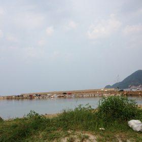 竹野に海水浴に行きました