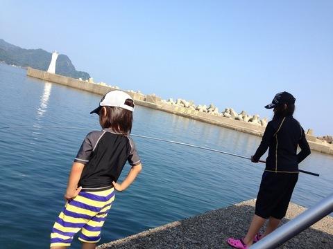 香住にアジを釣りに行きました
