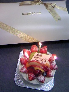 happy☆birthday ケーキ