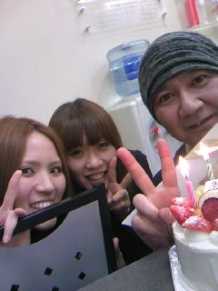 happy☆birthday 店長、美香、友香