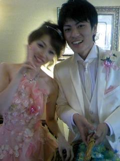 妹の結婚式で山口県