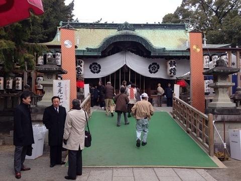 茨木恵美須神社に行っていました