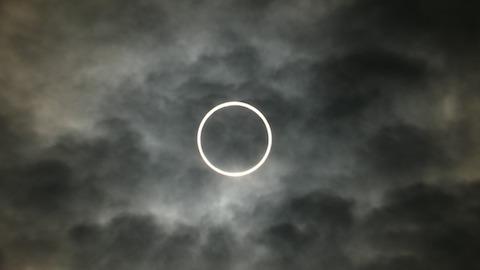 2012年5月21日金環日食