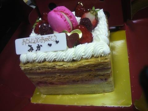 3月はケーキの食べる機会が多い