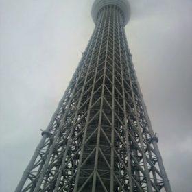 東京スカイツリー登ってきました
