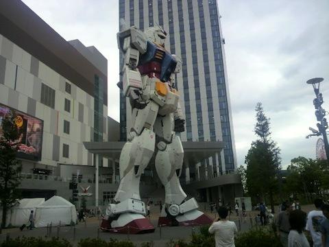 東京お台場ダイバシィーガンダム