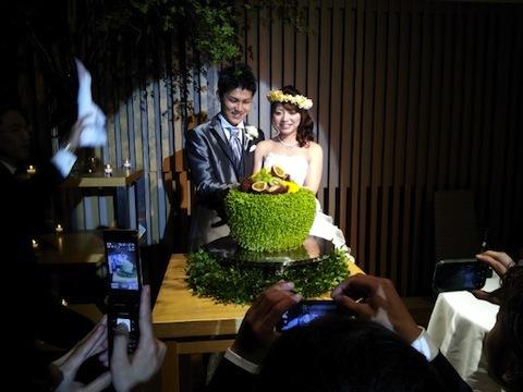 親戚の結婚式に行って来ました