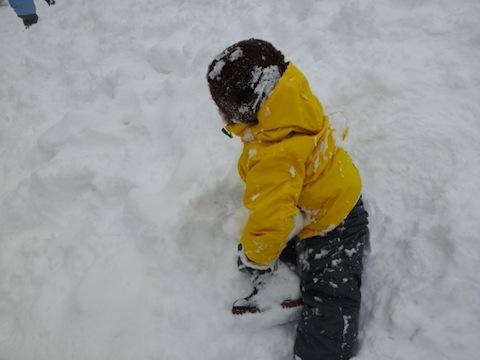 ハチ北にスノーボードしに行きました