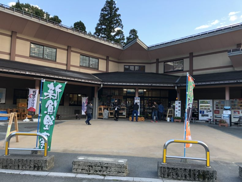 滋賀県道の駅マキノ追坂峠
