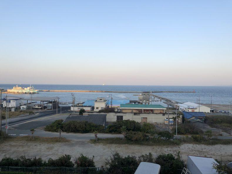 伊良湖 おもてなし処 龍宮之宿 部屋からの景色