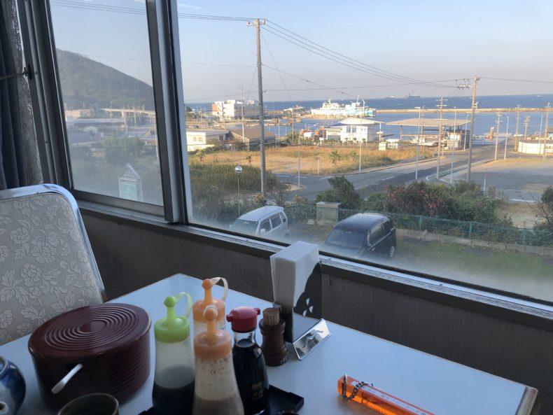 伊良湖 おもてなし処 龍宮之宿 食堂からの景色