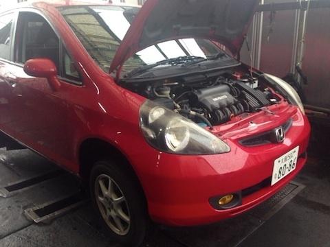 今日は車の修理を出しに行ってきました