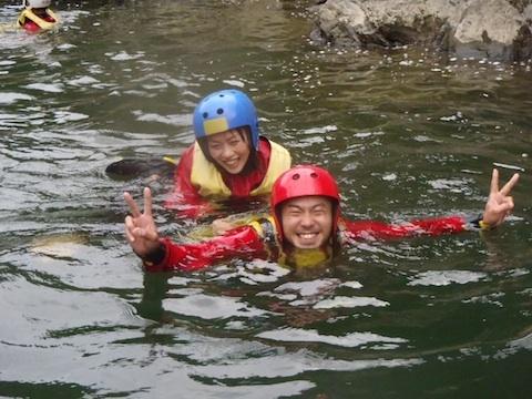 京都の保津川にラフティングしてきました