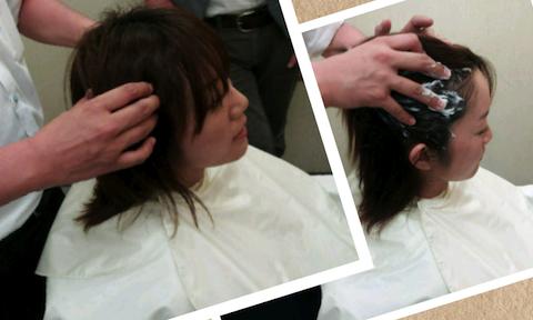 ヘッドスパの講習をしました