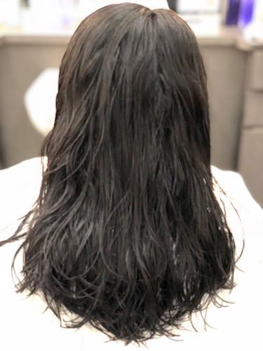 縮毛矯正する前のクセ