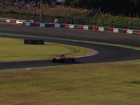 F1第15戦日本グランプリに行って来ました
