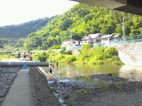 夏休みは川ばっかり!